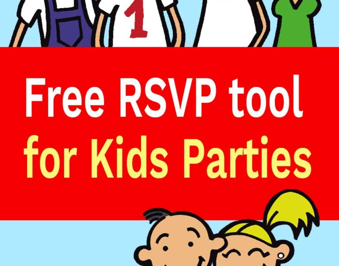 free rsvp tool for kids parties