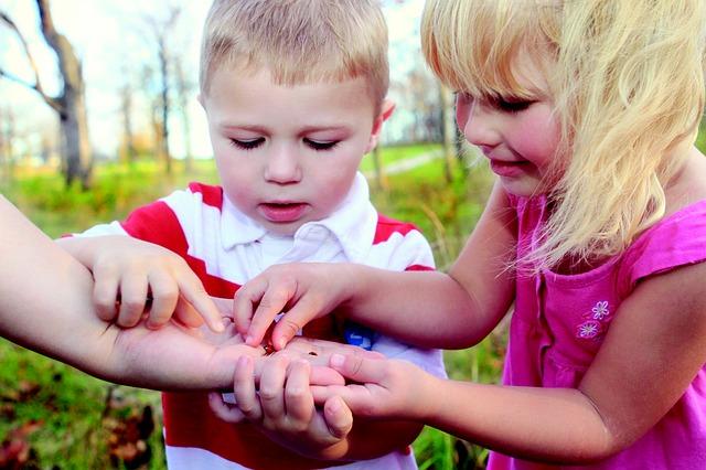 Outdoor Activities With Kids - Bug Hunt
