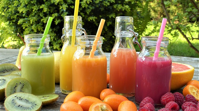 Tips in Hosting Kids' Spa Birthday Party - Fruit Smoothies