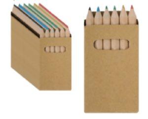 10 Educational Piñata Fillers - Colored Pencil in Box