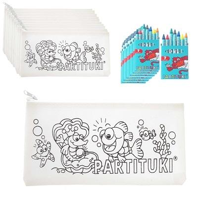 10 Remplisseurs de piata éducatives - Cas de crayon Partituki