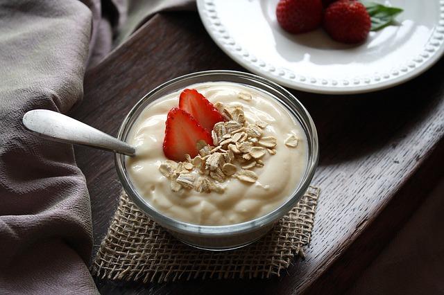 Healthy Food for Kids - Yogurt