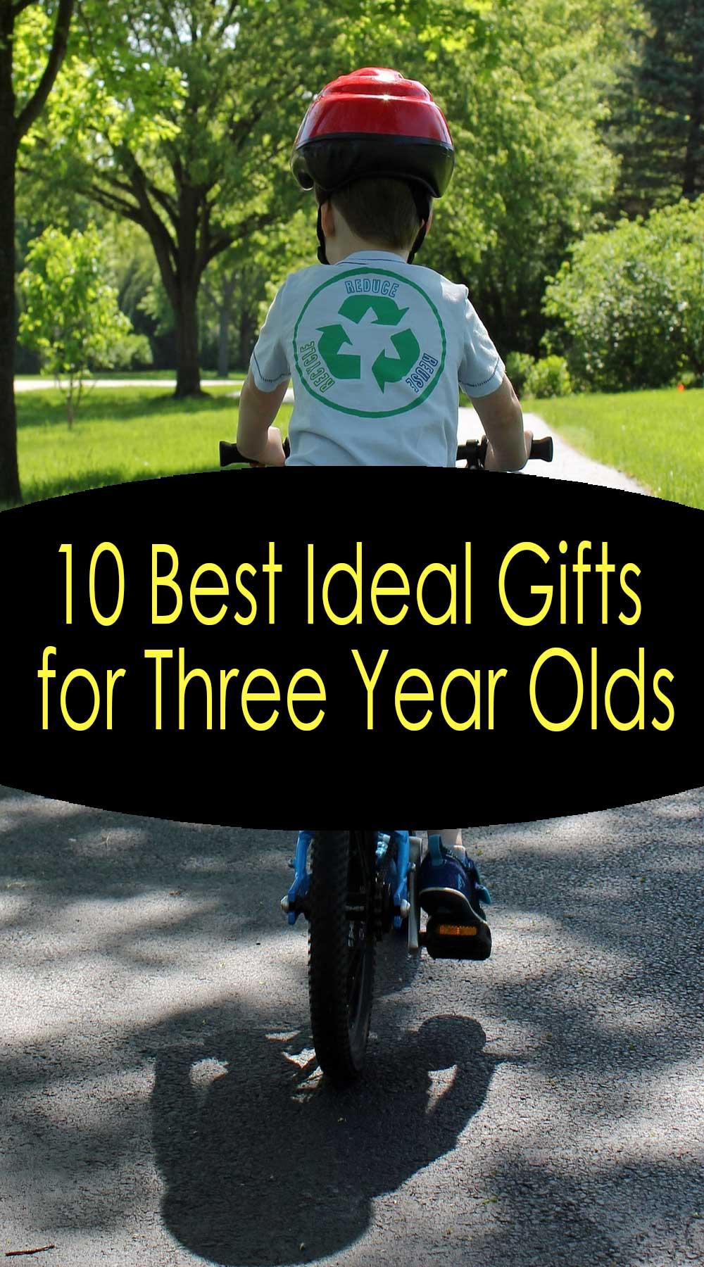 10 meilleurs cadeaux idéaux pour les enfants de trois ans