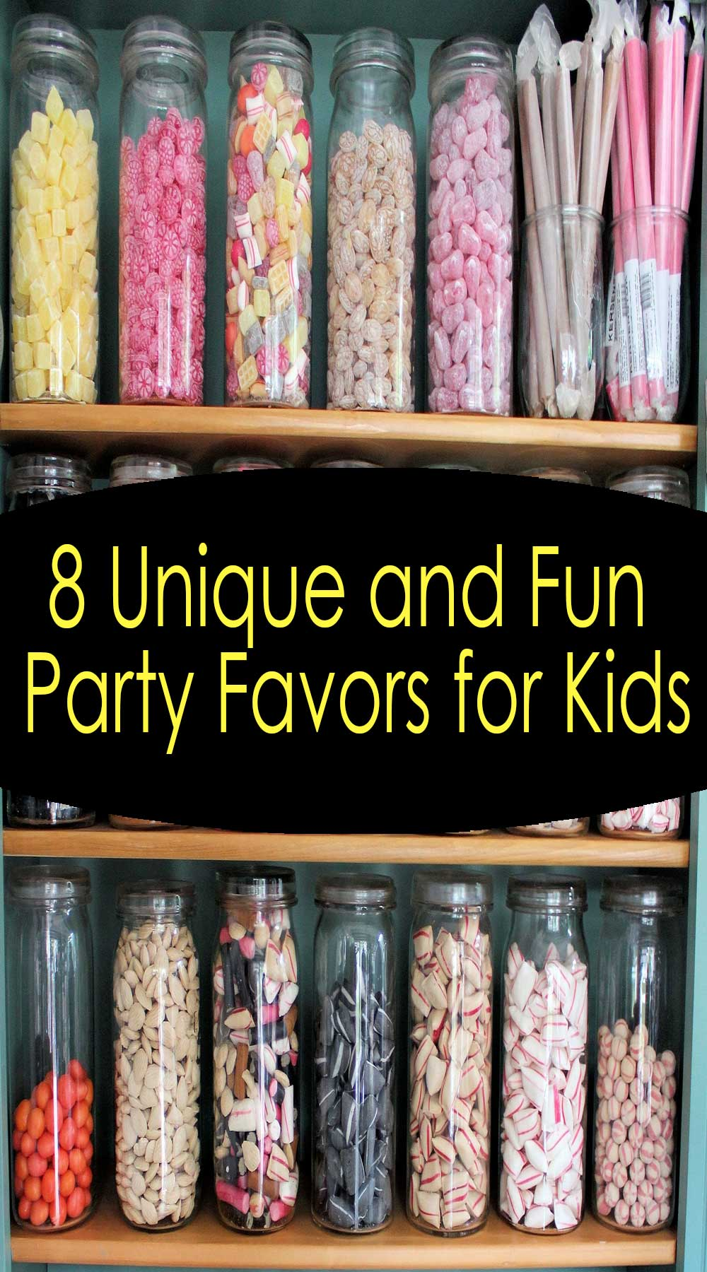 8 Unique and Fun Party Favors for Kids