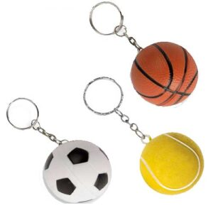 Ball-Shaped Keyrings
