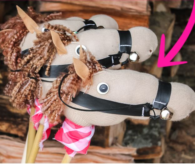DIY Stick Horse from a Sock - Fun Activities with Kids