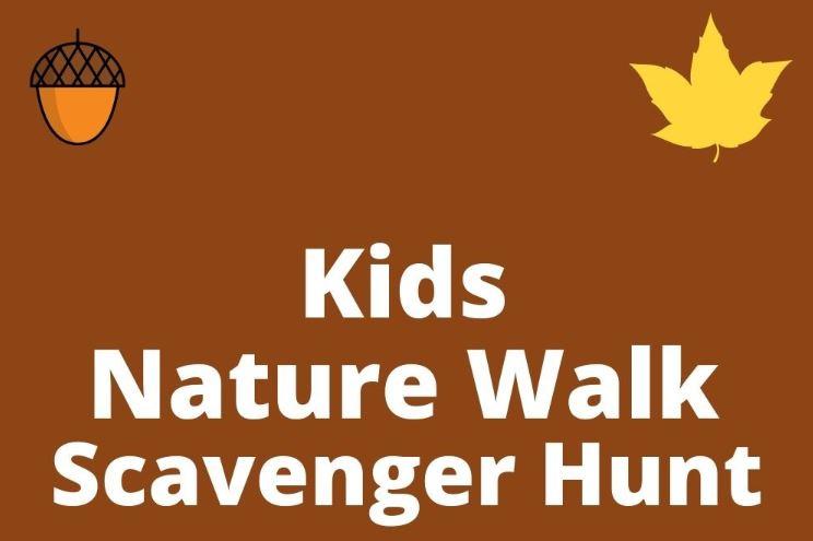 Nature Walk Scavenger Hunt - Fun Activities with Kids