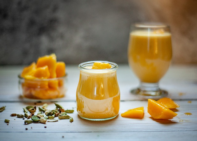 Mango Smoothie - Amazing Summer Recipes That Kids Can Help Prepare