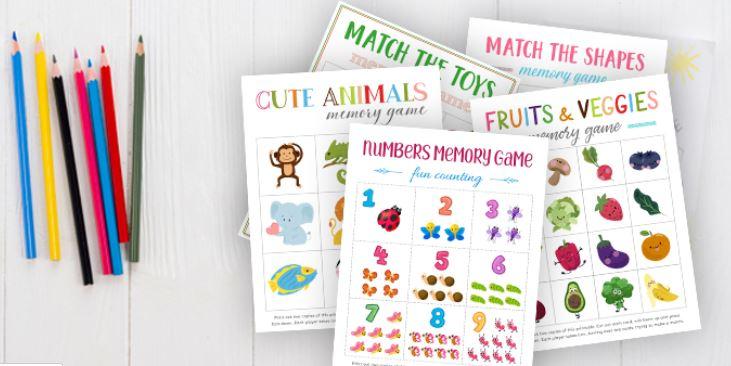 Fun Memory Games - Fun Activities with Kids