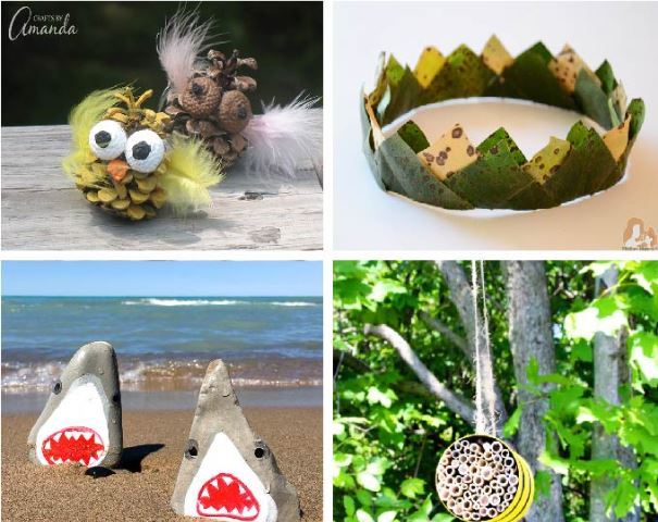 Nature Crafts for Kids - Fun Activities with Kids