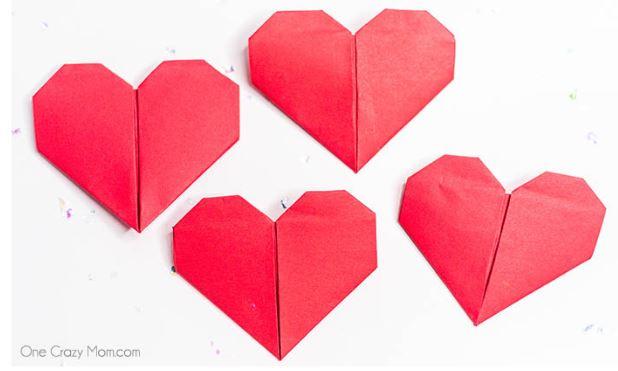 Origami Heart - Fun Activities with Kids
