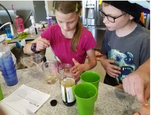 Rock Candy Science Experiment - Fun Activities with  Kids