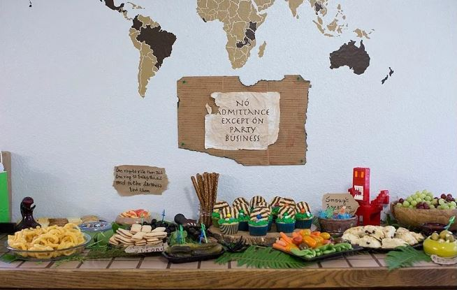 The Hobbit Party - Original Party Ideas for Kids