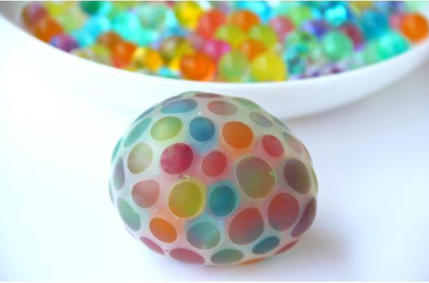 Water Bead  Stress Ball - Fun Activities with Kids